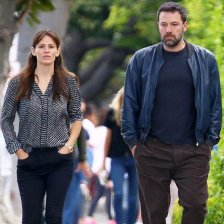 Jennifer Garner and Ben Affleck keep to themselves